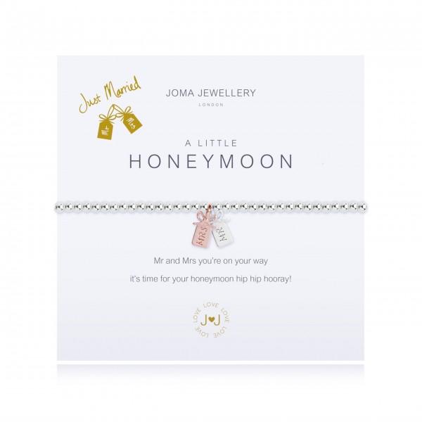 """Armband """"a little - Honeymoon"""" von Joma Jewellery"""