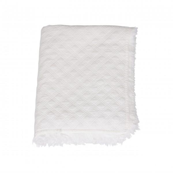 Chic Antique Quilt (Weiß)