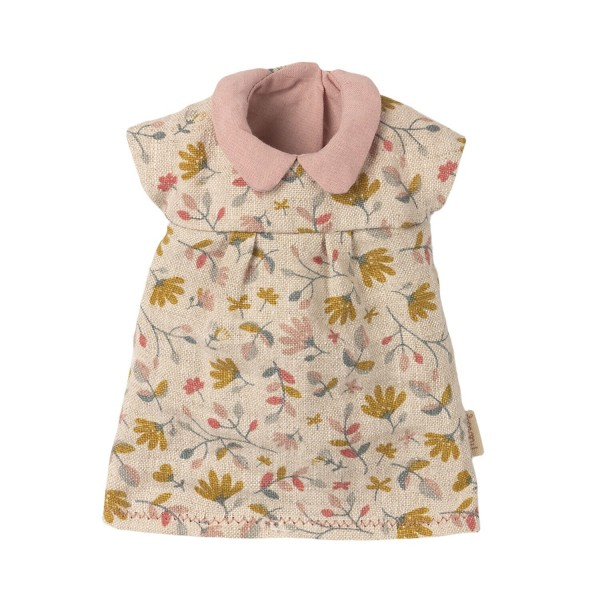 """Maileg Kleid """"Blumen"""" für Teddy-Mama (Rosa)"""