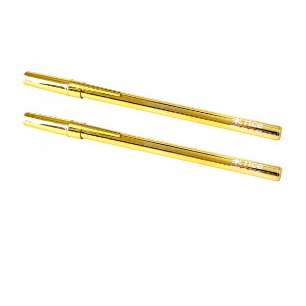 rice Stift mit schwarzer Miene im 2er-Set (Gold)