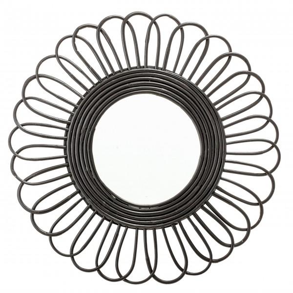 Bloomingville Großer Spiegel (Schwarz)