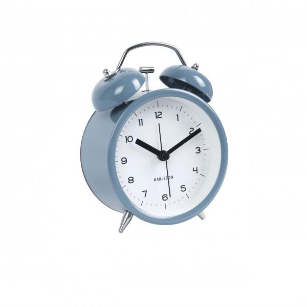 "Present Time Wecker ""Classic Bell"" (Jeans Blau)"