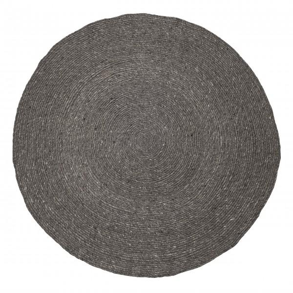 Bloomingville Teppich aus Wolle (Grau)