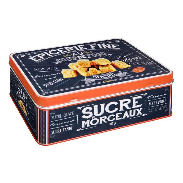 """Retro-Blechdose für Zucker & Co """"Sucre"""""""