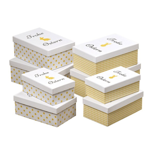 Süße Osterverpackung in 2 netten Designs