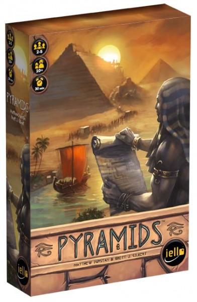 """Gesellschaftspiel """"Pyramids"""" von iello"""