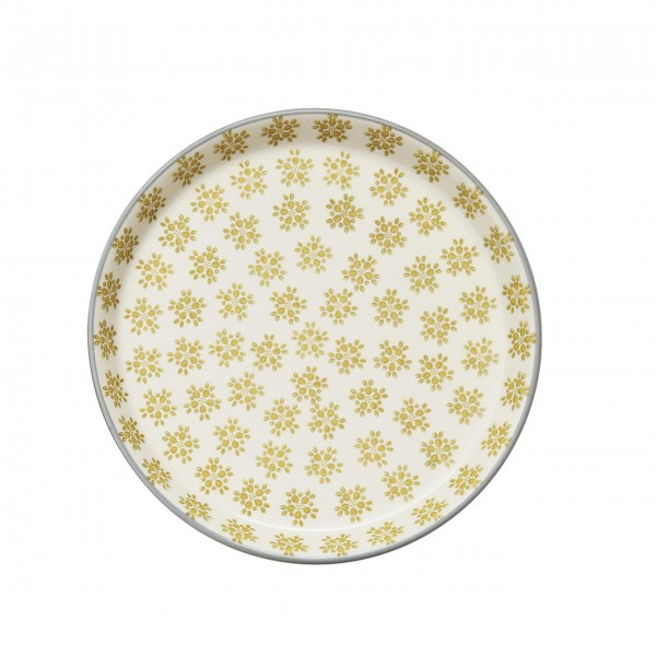 "Teller ""Gatherings"" (Gold) von Creative Collection by Bloomingville"