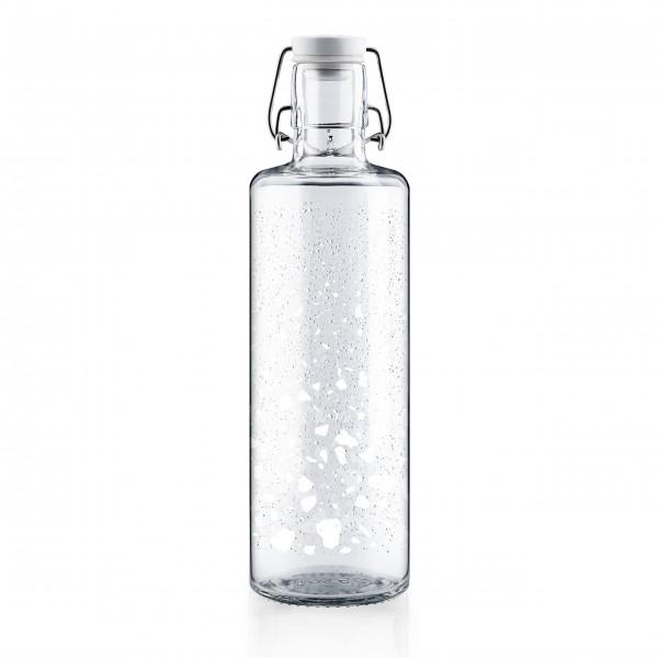 Hochwertige Trinkflasche aus Glas von Soulbottles