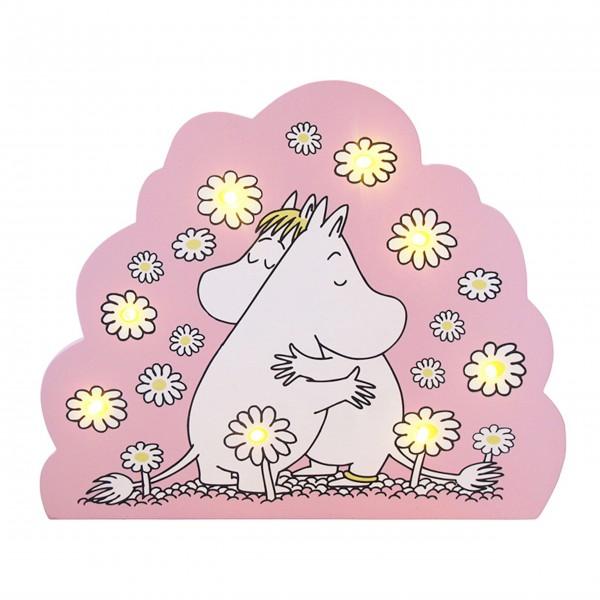 """Disaster Designs Nachtlicht """"Moomin"""" (Rosa)"""