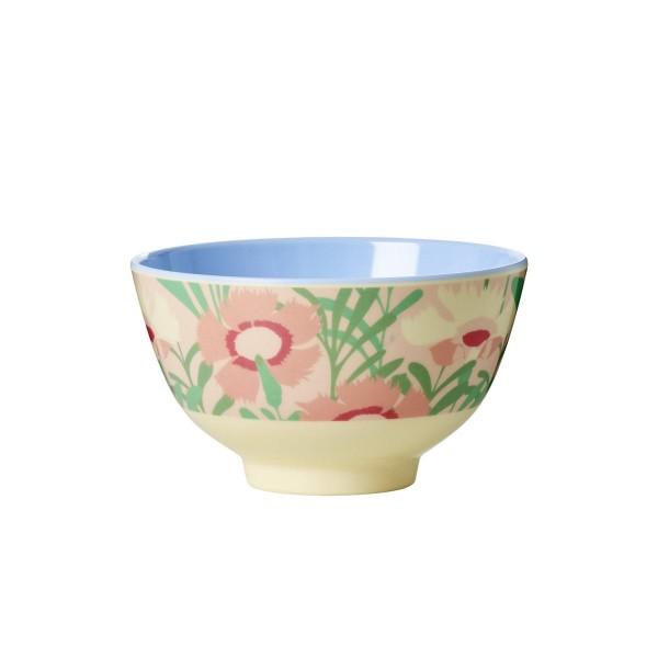 Schöne Melaminschüssel von Rice mit frühlingshaftem Blumenmuster