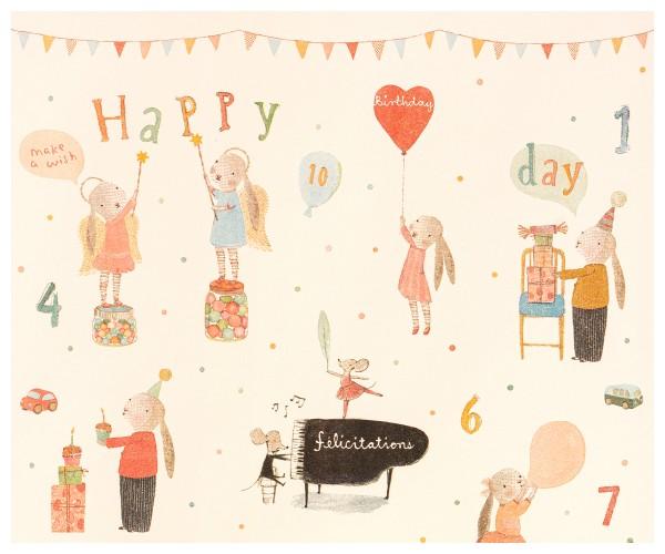 """Maileg Geschenkpapier """"Happy Day"""" - 200m"""