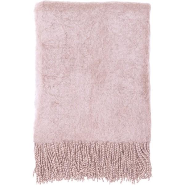 GreenGate Decke aus Mohairwolle - 120x160cm (Pale Pink)