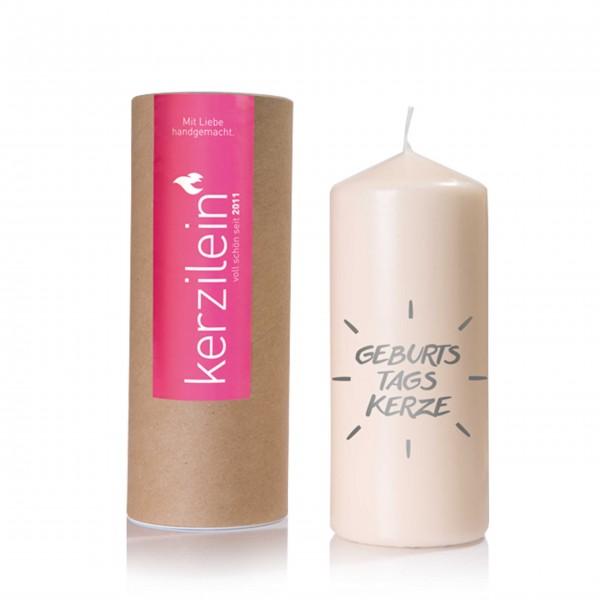 Für einen besonderen Tag: Geburtstagskerze von Kerzilein