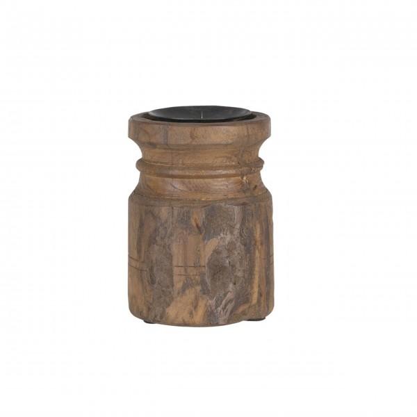 Klein und fein - der rustikale Kerzenständer von Ib Laursen