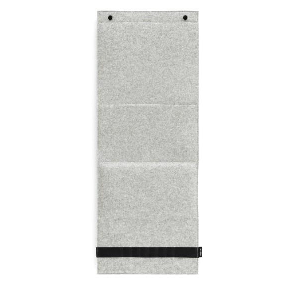 Filz-Wandorganizer - 31x80x3 cm (Hellgrau/Marmor) von HEY-SIGN
