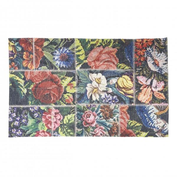 Teppich mit Blumenmuster (100x150cm) von Bahne