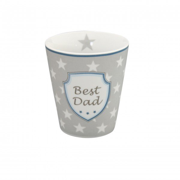 "Krasilnikoff Happy Mug ""Best dad"""