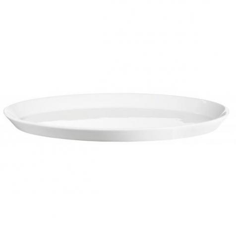 Ovale Servierplatte von ASA aus hochwertigem Porzellan