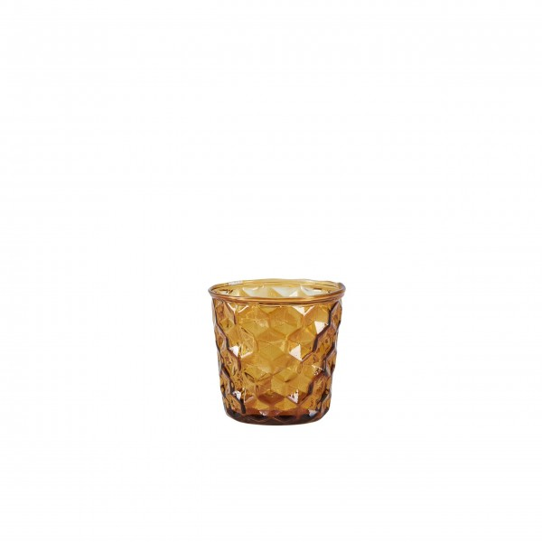 Bahne Votive glass brown