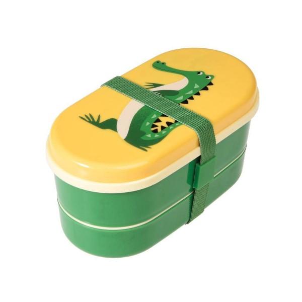 Witzige Bentobox im Krokodildesign