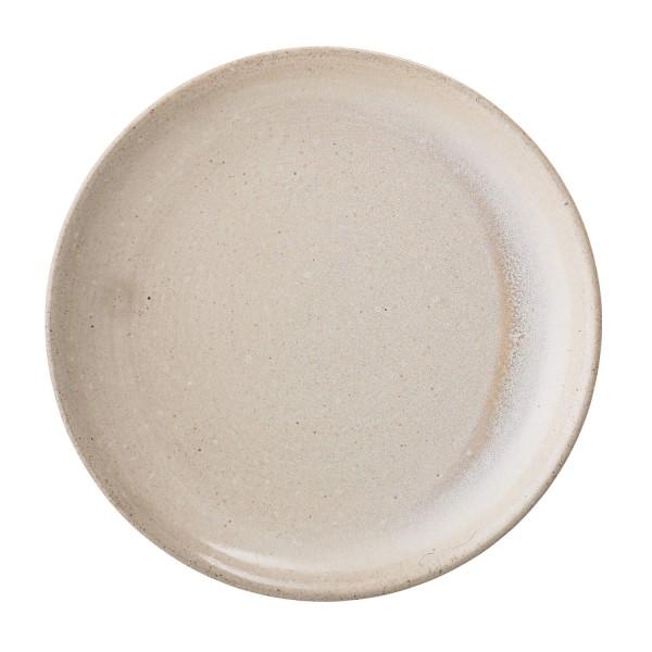 Hochwertiger Keramikteller aus der Columbine Kollektion von Bloomingville