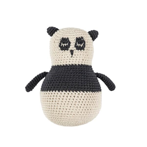 """Stehaufmännchen """"Häkel-Panda"""" von sebra"""