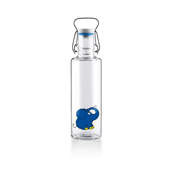 """Trinkflasche """"Der Elefant"""" von Soulbottles"""