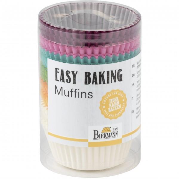 """Birkmann Muffin Papierförmchen """"Easy Baking"""" - Groß (Bunt)"""