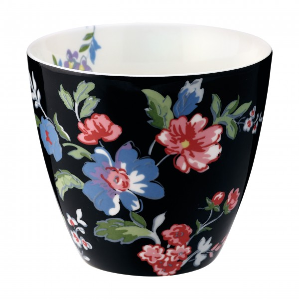 "GreenGate Latte Cup ""Isobel"" (Black)"