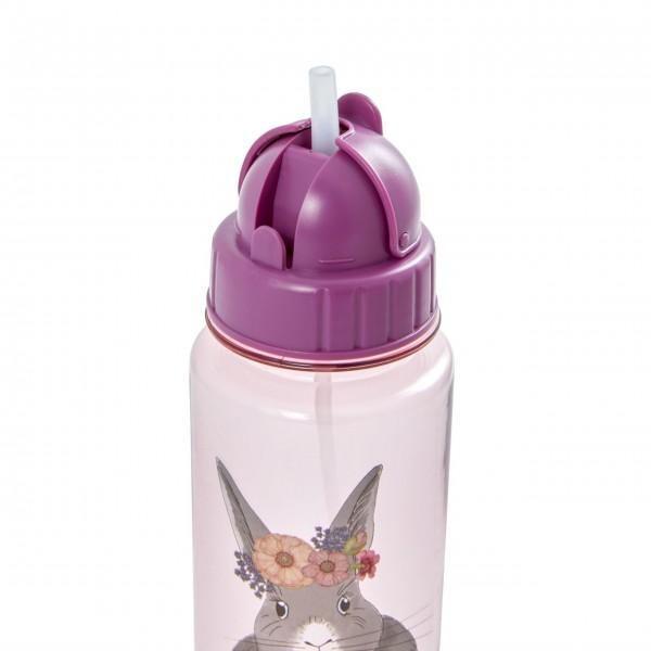 """Rice Trinkflasche für Kinder """"Farm Animal"""" (Pink) - 500 ml.-1"""