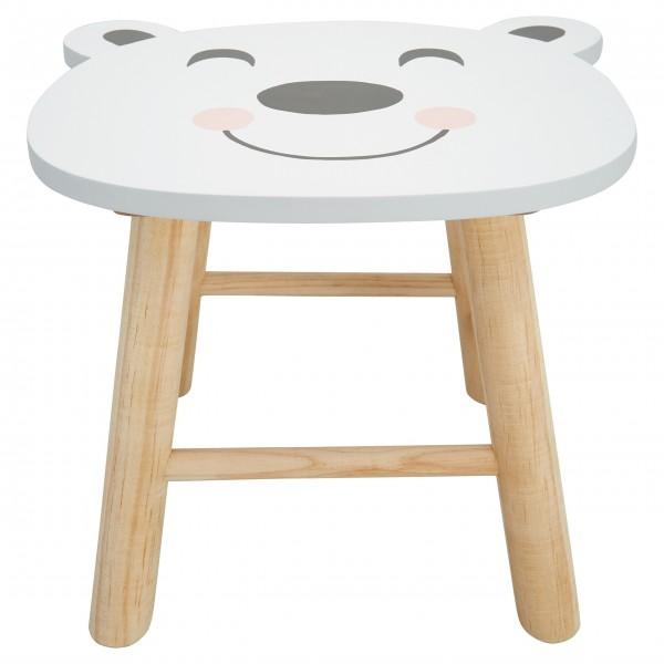 "GreenGate Kinder-Stuhl ""Bear"" (Warm Grey)"