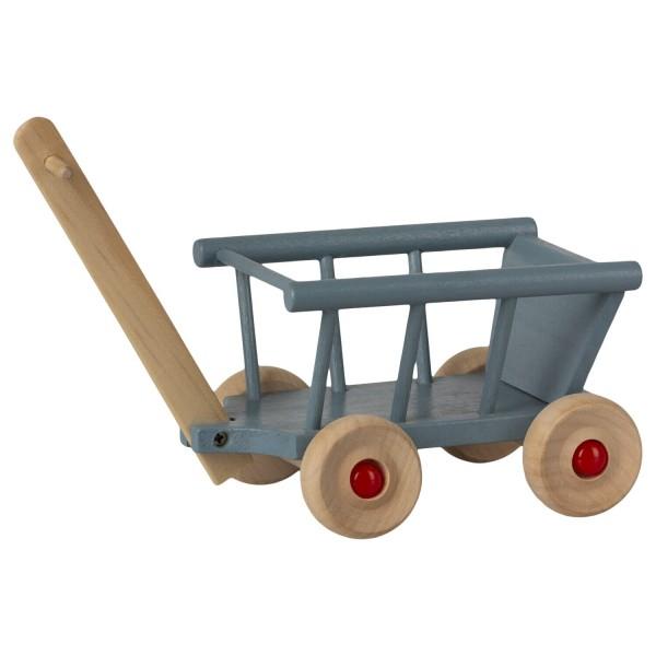 Maileg Maus Leiter-Wagen (Blau)