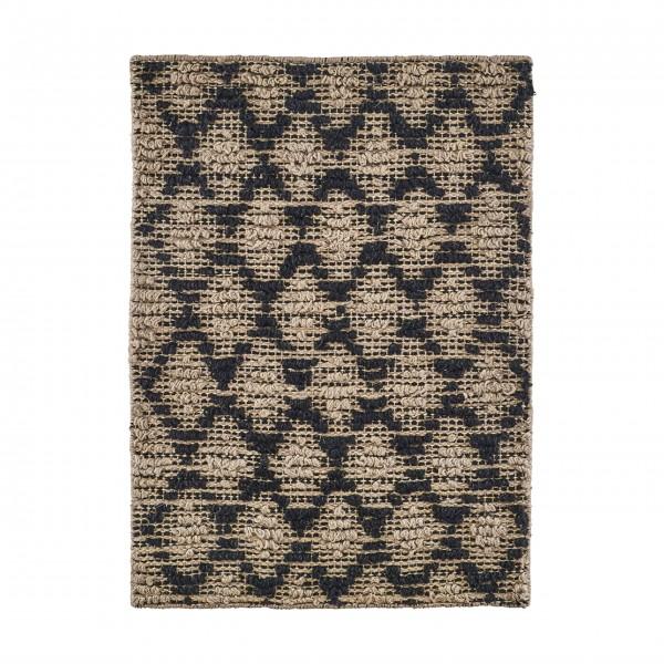 Rustikaler Look, charmante Unebenheiten: Teppich aus Jute von House Doctor