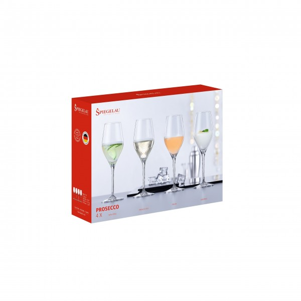 "Spiegelau Proseccogläser ""Happy Price"", 4er-Set"