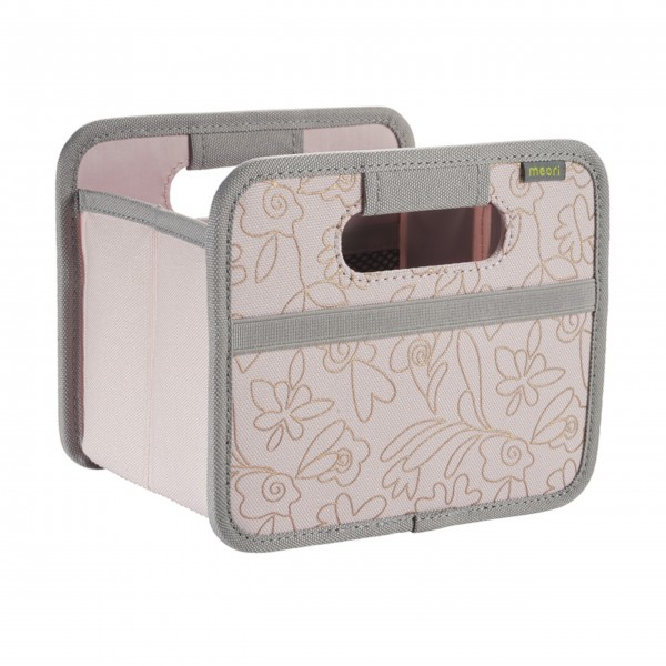 "meori Faltbox ""Dream Rose / Floral copper metallic print"" - Mini"