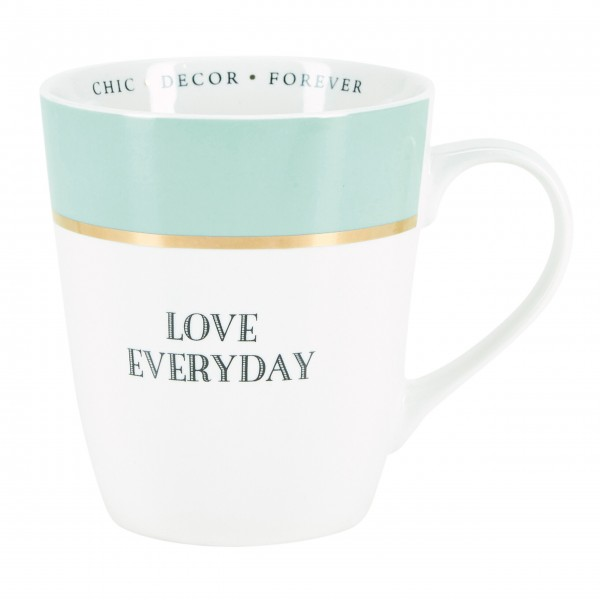 "Miss Etoile Tasse ""Love everyday"""