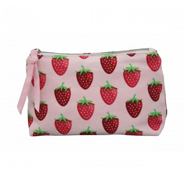 "Krasilnikoff Kosmetiktasche ""Strawberry"" (Rosa)"