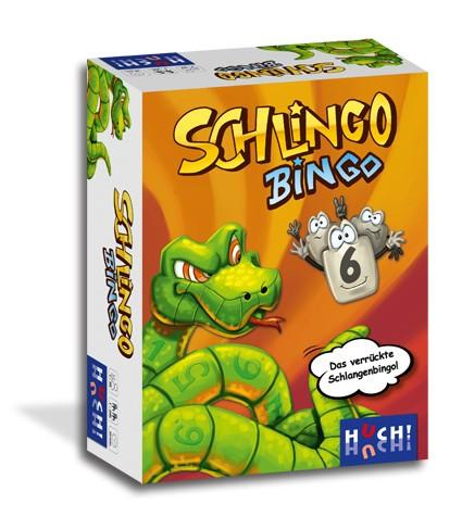"""Gesellschaftsspiel """"Schlingo Bingo"""" von HUCH!"""