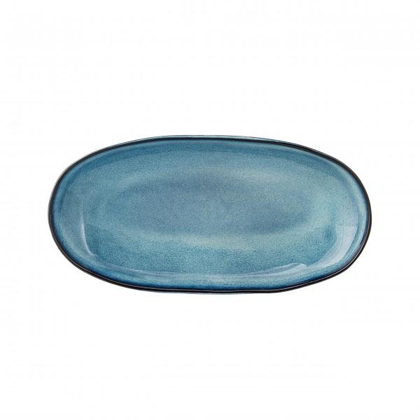 Ovale Keramikplatte zum Servieren: von Bloomingville