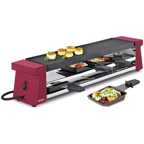 Spring Raclette 4 Compact, rot