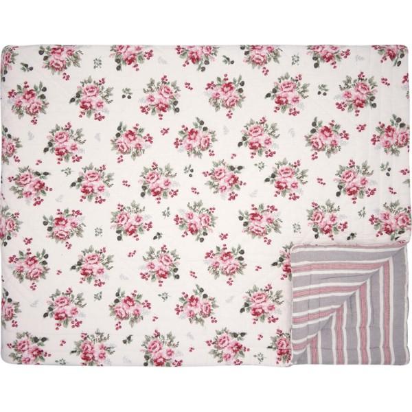 "GreenGate Quilt ""Charline"" - 140x220cm (White)"