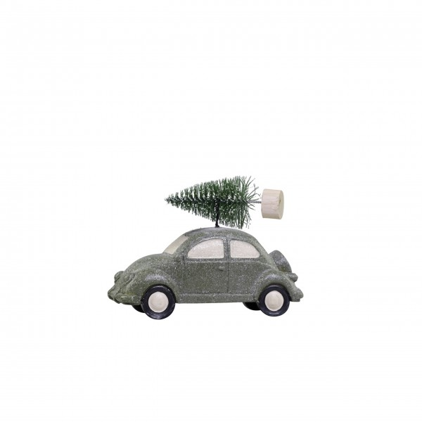 Chic Antique Auto mit Weihnachtsbaum - Mittel