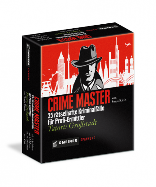 """Gesellschaftspiel """"Crime Master"""" von Gmeiner"""