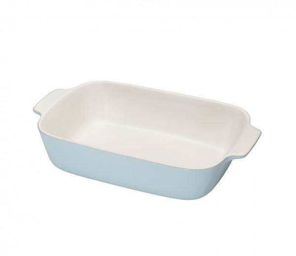 Die schlichte Auflaufform von Küchenprofi kann sowohl als Back- oder als Servierform genutzt werden.