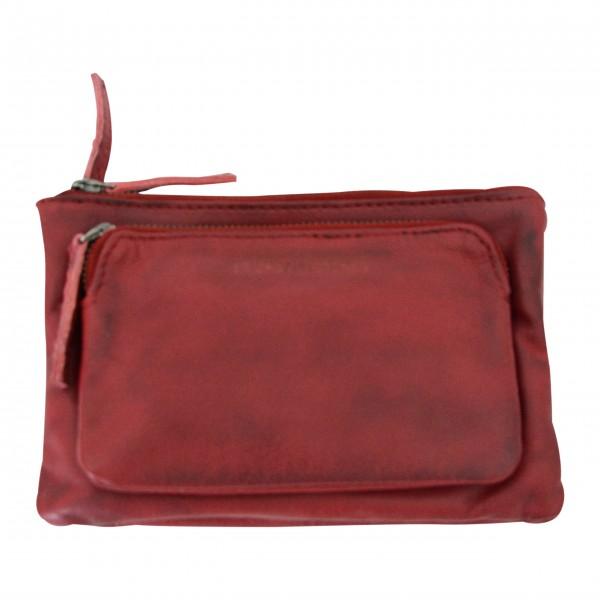 Kleine, dreiteilige Handtasche aus Büffelleder: von Sticks and Stones