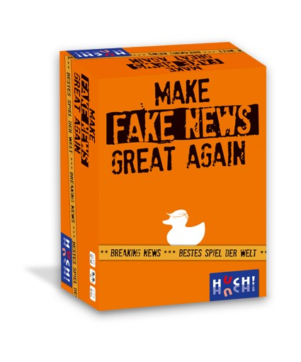 "Partyspiel ""Make Fake News Great Again"" von HUCH!"