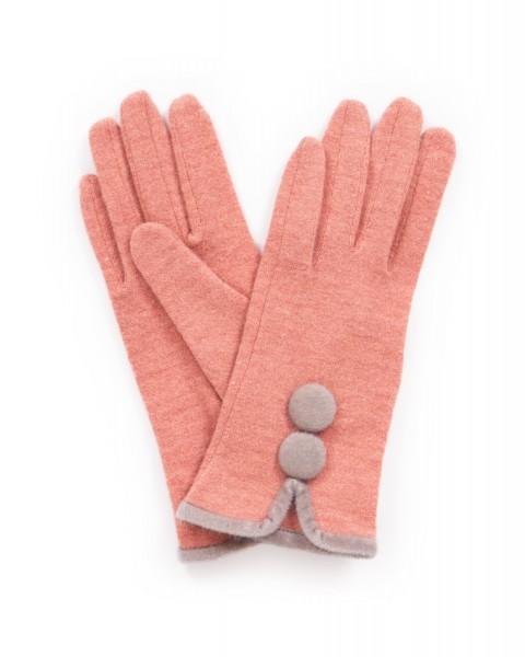 "Powder Handschuhe ""Christabel"" (Koralle)"
