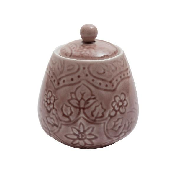 Schöne Zuckerdose aus Keramik, von AU Maison