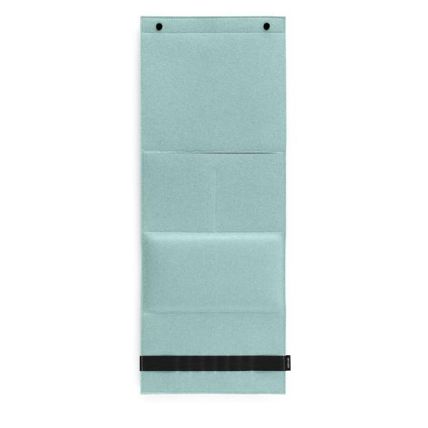 Filz-Wandorganizer - 31x80x3 cm (Hellblau/Aqua) von HEY-SIGN