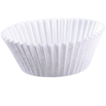 Kaiser Mini-Muffin-Papierbackförmchen 200 Stück (weiß, 4,5 cm)